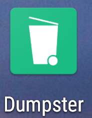 Dumpsterアイコン